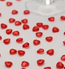 Red Scatter Hearts