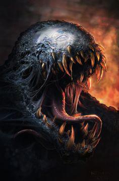 ArtStation - Venom, Michal Matczak