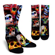 This is a great item! Sugar Skulls Socks Here: http://nvr2lte2shop.com/products/sugar-skulls-socks?utm_campaign=social_autopilot&utm_source=pin&utm_medium=pin