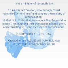 "#Bible verse found with ""Identity in Christ Daily"" for Android, iPhone and Kindle Fire! http://www.roboticode.co.uk"