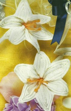 Il blog di Vera Maglia&Uncinetto: fiore giglio spiegazione in italiano