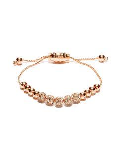 Metal & Crystal Beaded Friendship Bracelet | Women's Jewelry | THE LIMITED