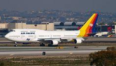 Air Pacific - Fiji.   Boeing 747-412