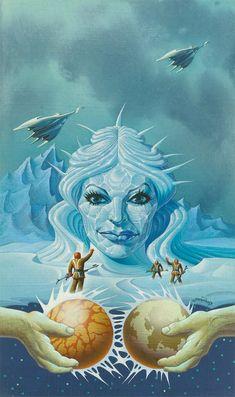 Don Ivan Punchatz   Queen of the Ice Planet