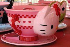 Hello Kitty Teacup Ride (Puteri Harbour Family Theme Park - Nusajaya Johor, Malaysia)