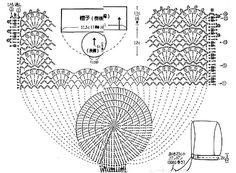 Gorra de beba en crochet con patrón | Gaby2723