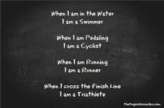 triathlon motivation and inspiration quotes Ironman Triathlon Motivation, Sprint Triathlon, Triathlon Training, Triathlon Women, Running Training, Trail Running, Training Tips, Running Quotes, Running Motivation