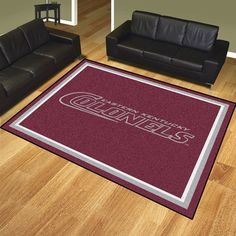 Eastern Kentucky University 8x10 Rug