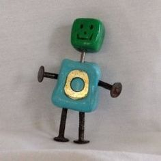 Make an awesome clay robot with your kids thanks to a great tutorial from So Crafty lensmaster lilymom24. Find tips here: http://www.squidoo.com/how-to-make-a-robot-out-of-clay.