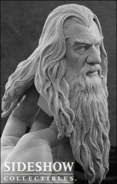 Gandalf sculpture
