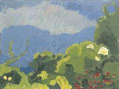 Cuno Amiet - Sommergarten, 1951