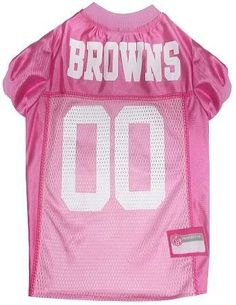 Cleveland Browns Pink Jersey MD