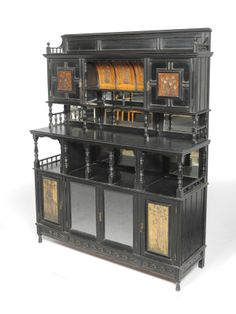 Aesthetic Movement Sideboard Aesthetic Style, Aesthetic Movement, Victorian Furniture, Victorian Gothic, Importance Of Art, Vintage Homes, Romanesque, Sideboard, Art Decor