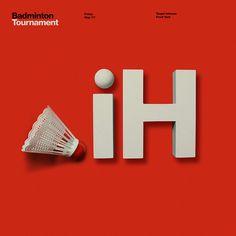 Target Badminton Poster Design for an internal Badminton Tournament.
