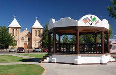 Plaza in Mesilla