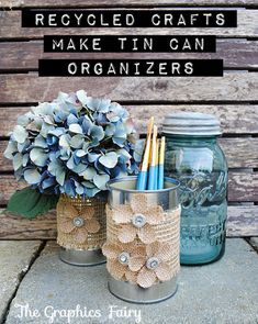Can Crafts Ideas for the free time