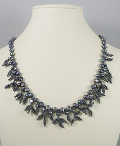 Peacock Pearl Necklace