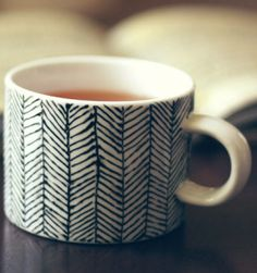 DIY Painted Coffee Mug