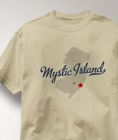 Cool Mystic Island New Jersey NJ Shirt from Greatcitees.com