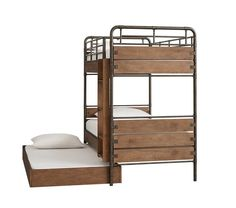 Owen Twin-over-Twin Bunk Bed | Pottery Barn Kids