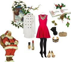 """""""Christmas Greetings"""" by co1210 on Polyvore"""