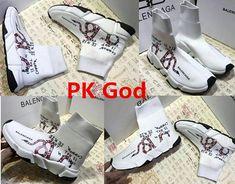 72d1114d0 2018 lowest Balenciaga Speed Trainer Sneakers Multicolour Knit Sock  Coloured snake logo PK God original Perfectkicks Ins legit check