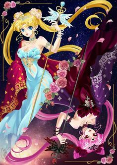 Sailor Moon & Wicked Lady