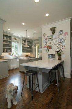 Kitchen design by Sally Wheat Interiors