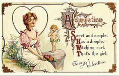 Free Valentine Postcard Printable
