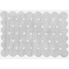 Tapis en laine gris et blanc Poudre d\'étoiles (120 x 120 cm) | Tapis ...