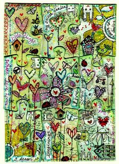 I dream in doodles... by Tanya Mac~