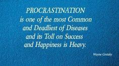 Benefits of stop Procrastinating