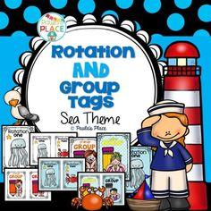 Rotation and Group Tags - Sea Theme