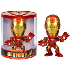 Iron Man 2 Funko Force Mark 6 Bobble Head Figure