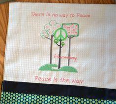 Peace Tea Towel