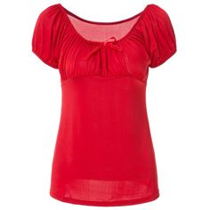 Noble Boat Neck Pure Color Bowknot Ruffled T-Shirt For Women — 9.13 € Size: XL Color: RED