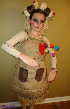 Pretty Little Voo Doo Doll - Halloween Costume...totally for Amy