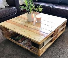classic pallet coffee table