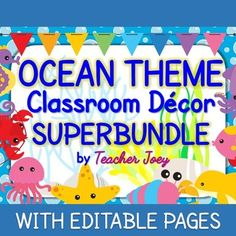 ocean theme decor