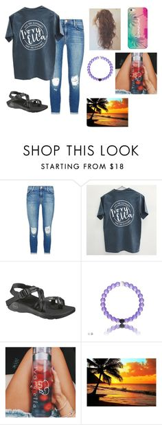 """Casual Summer/Spring Outfit"" by mmd32 ❤ liked on Polyvore featuring J Brand, Chaco and Casetify"