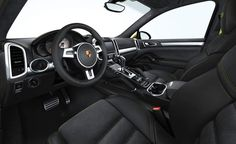 2014 Porsche Macan Interior Dashboard