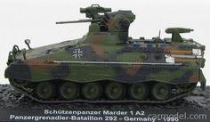 EDICOLA BLINDCOMBAT020 Scale 1/72  BMM TANK SCHUTZENPANZER MARDER 1 A2 PANZERGRENADIER BATTALION 292 GERMANY 1990 CAMOUFLAGE