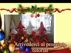 Tutorial Natale: cucito creativo Albero di Natale / creative sewing Christmas tree - YouTube