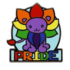 Show your support of the LGBTQ community with this Hard Enamel Pin from our Pride Collection. Pride Quotes, Pansexual Pride, Lgbt Memes, Lion Pride, Lgbt Love, Lesbian Pride, Cute Pins, Pin And Patches, Gay Art
