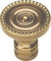 Belwith Keeler 1  1/4 inches Cabinet Knob Sherwood Antique Brass