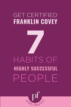 How To Make More Money With Planners // How To Get Certified by Franklin Covey Planners in 7 Habits