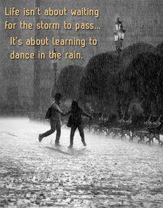 rain drops keep falling on my head | Sunny Slide Up