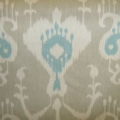 Java Driftwood Ikat Drapery Fabric - Fabric By The Yard  $8.95/yard
