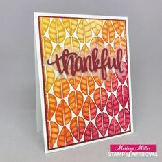 Mel's Card Corner | Counting Blessings SOA Launch Eve