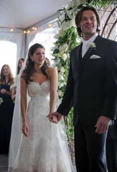 Jared and Genevieve Padalecki wedding